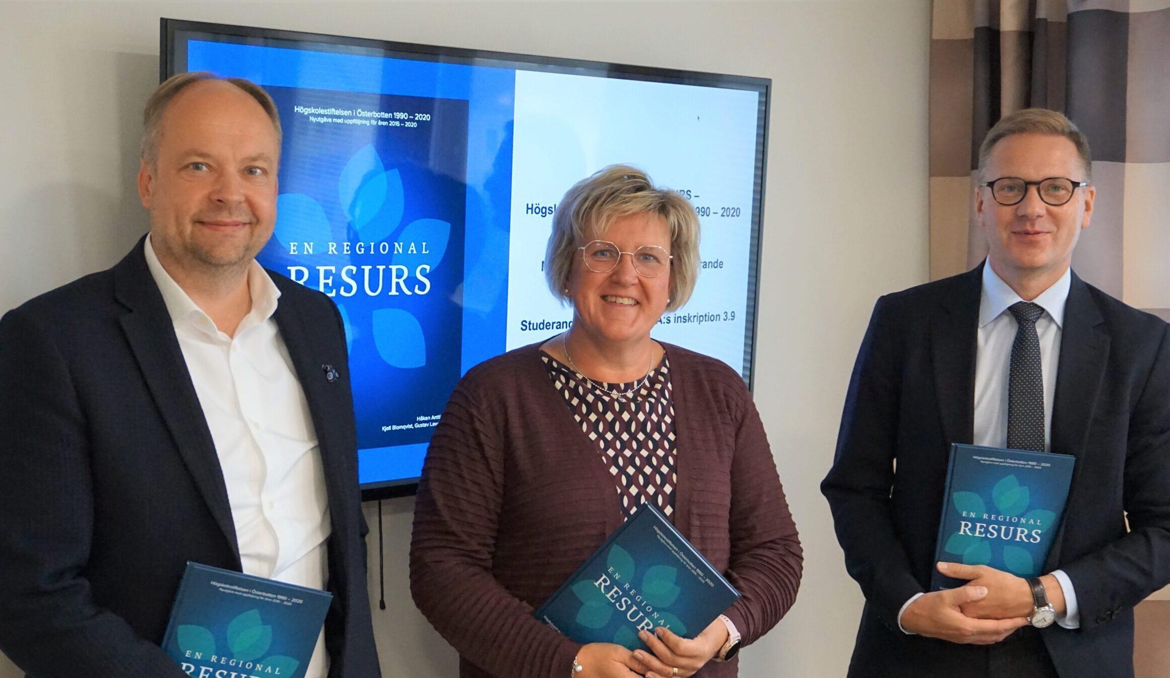 Mats Brandt vald till ny delegationsordförande för Högskolestiftelsen i Österbotten